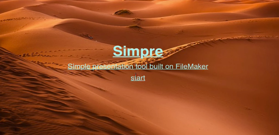 Presentation tool