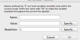 Variables FileMaker Pro