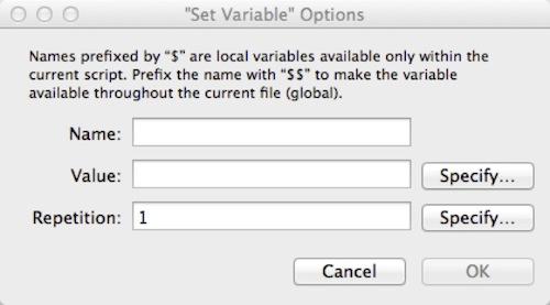 Variables FileMaker Pro