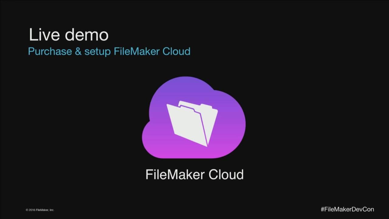 FileMaker on Amazon's Cloud
