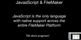 Integrating JavaScript and FileMaker