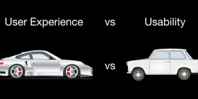 User Experience vs. Usability