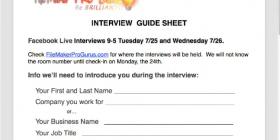 FaceBook Live Interviews at DevCon 2017