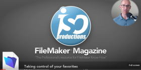 FileMaker 16 Favorite Hosts