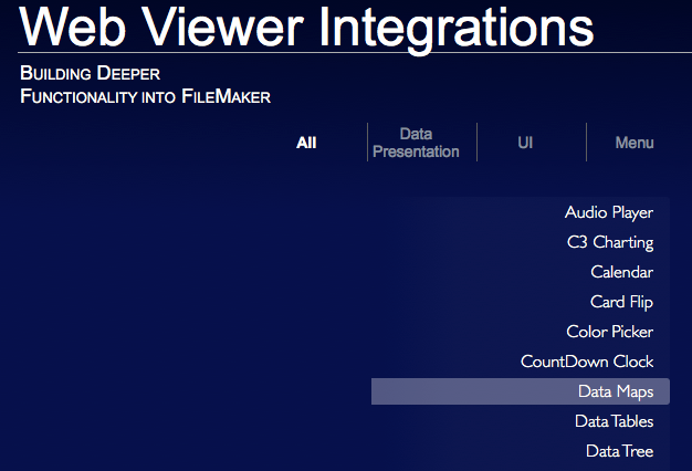 Web Viewer Integrations in FileMaker