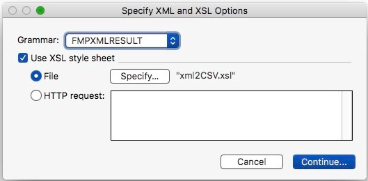 Excel Exports using XML and XSLT