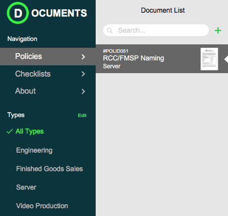 FileMaker Document Management and UX