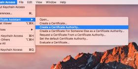 Creating Your Own SSL Certificate