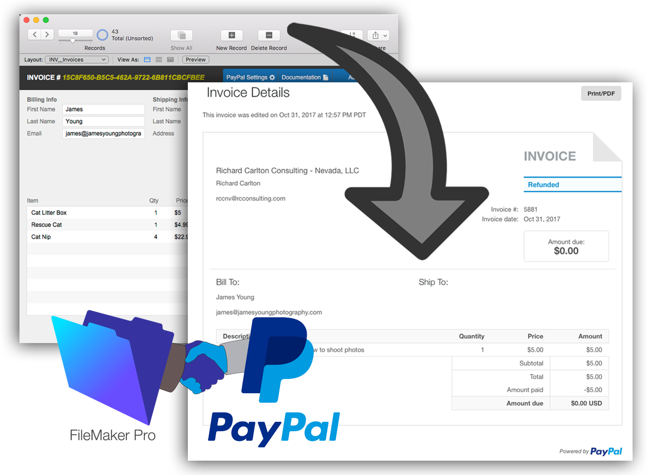 FileMaker and Paypal Integration