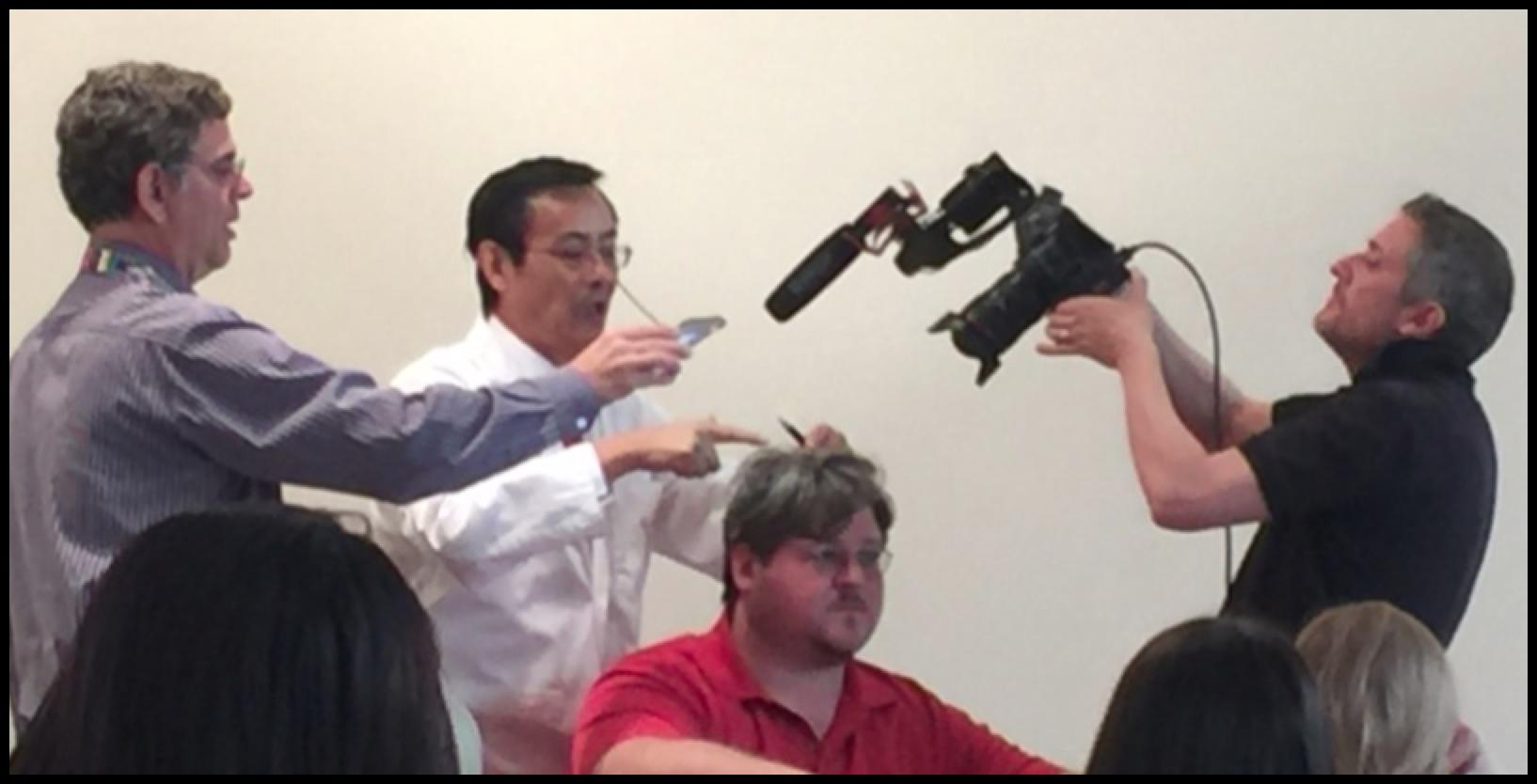 Dr. Hao treating Jon